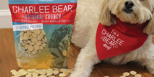 Charlee Bear Natural Dog Treats 16oz Bag Only $2.85 on Chewy.com (Regularly $7)
