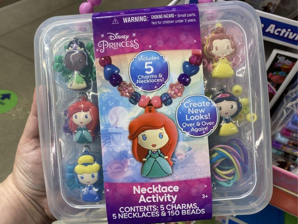 Charm Necklace Set Disney Princess