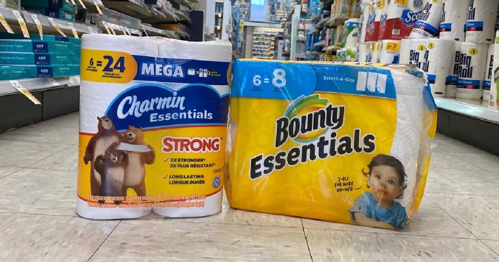 Charmin and Bounty Products at Walgreens