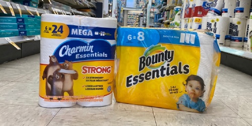 Over $38 Worth of Charmin, Bounty & Crest Just $5.77 After Walgreens Rewards