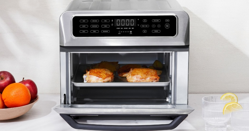 chefman air fryer and convection oven on counter