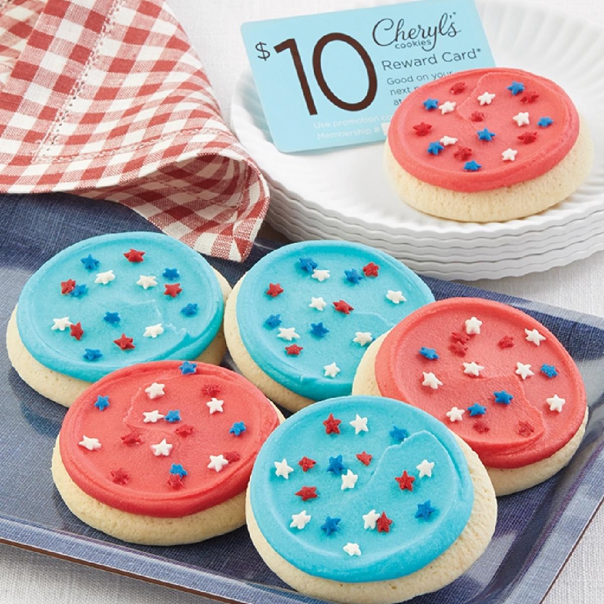 patriotic themed cookies