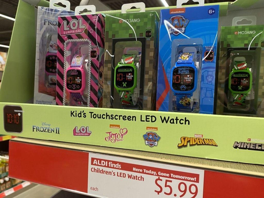 Childrens LED Watch