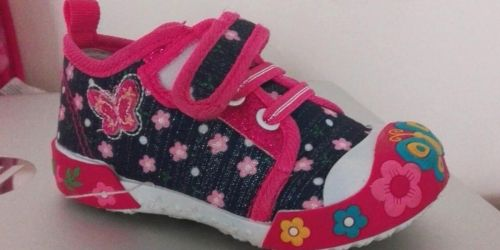 Kids Sneakers & Sandals from $7.99 on Zulily (Regularly $19+)
