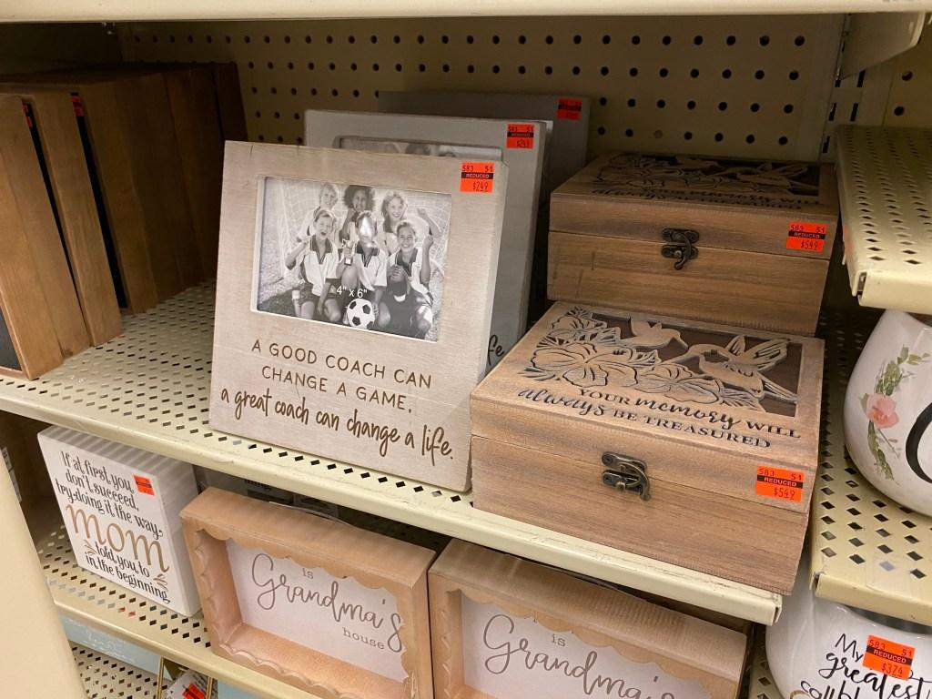 Coach Pic on store shelf