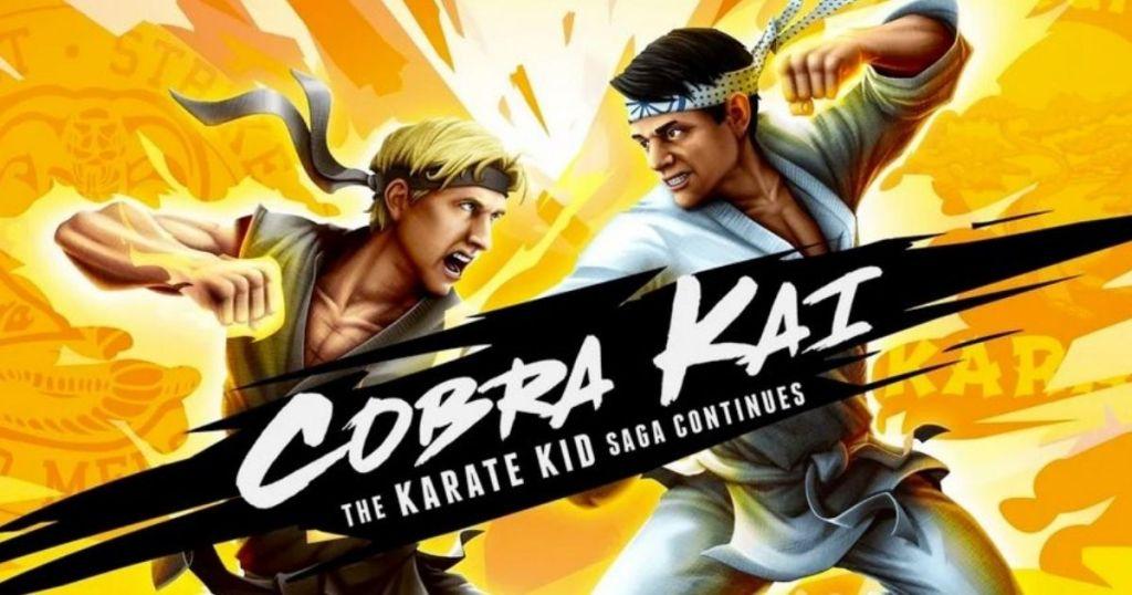 Cobra Kai videogame cover
