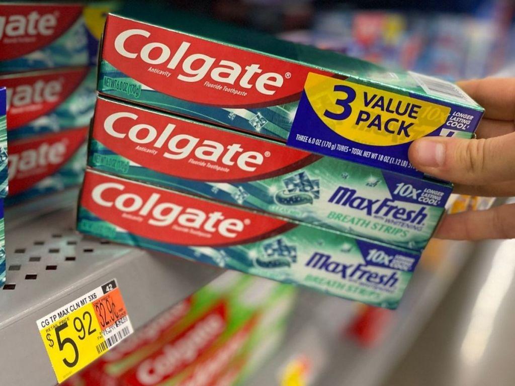 Colgate Max Fresh 3-Pack