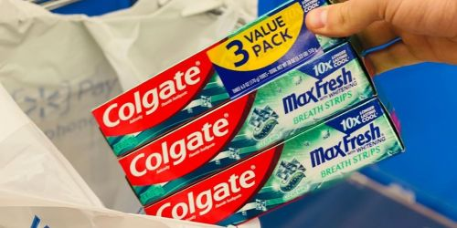Colgate Toothpaste 3-Pack Only 17¢ After Cash Back at Walmart