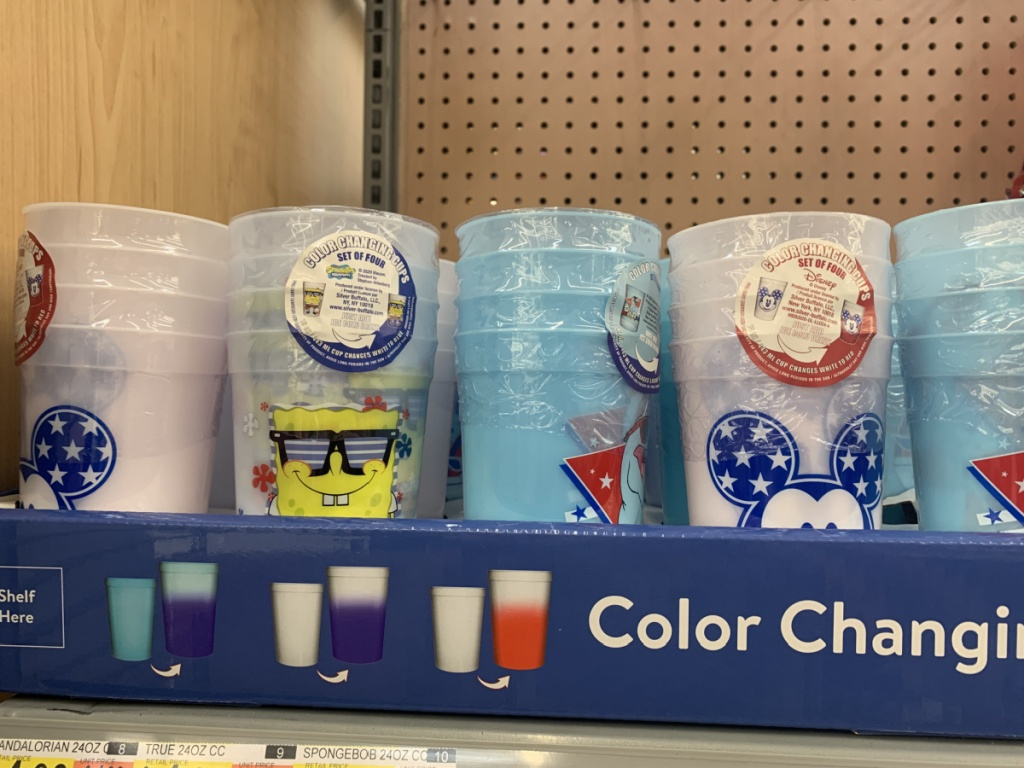 character themed cups