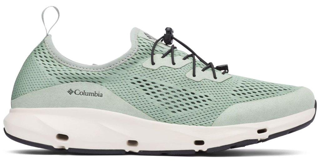 sage green mens columbia shoe