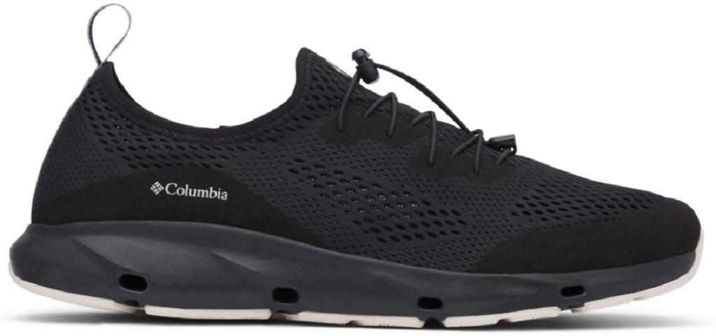 coumbia black men's vent shoe