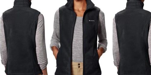 Columbia Women's Fleece Vest Just $18 on Amazon (Regularly $45) | Petite & Plus Sizes Included