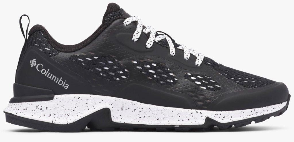 black mesh columbia women's hiking shoe