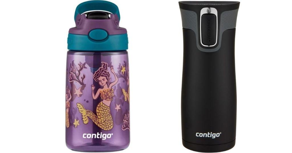 Contigo Water Bottle and Mug