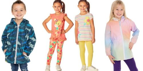 Kids Apparel From $5.97 Each Shipped on Costco.com | Spring Sets, Raincoats, PJs & More