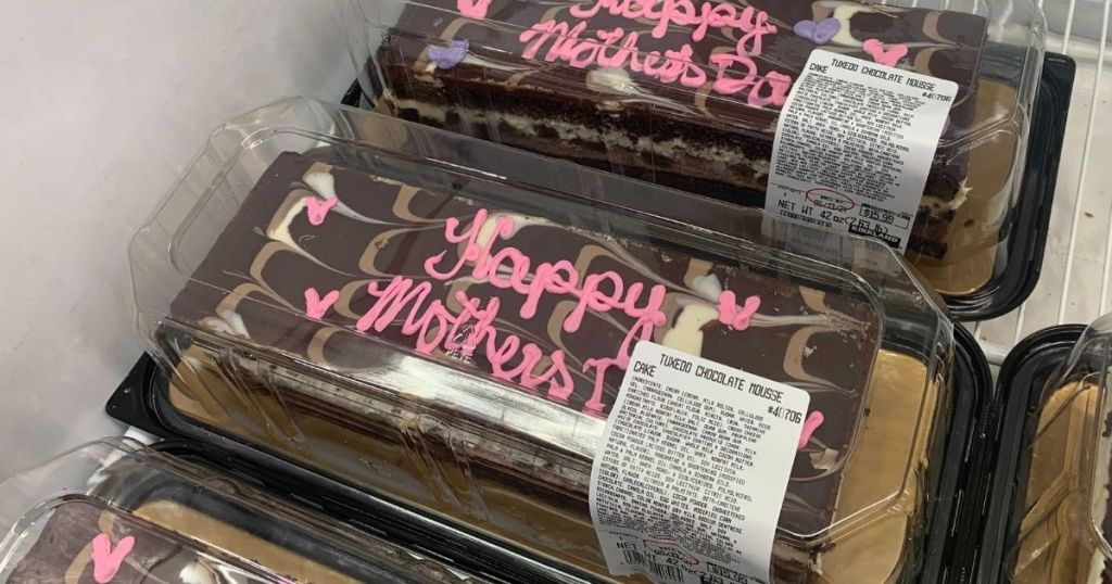 Costco Mother's Day Tuxedo Cake