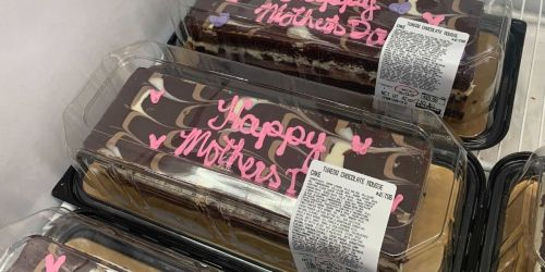 Costco's Popular Tuxedo Mousse Cake is Decked Out For Mother's Day + More Treats For Mom