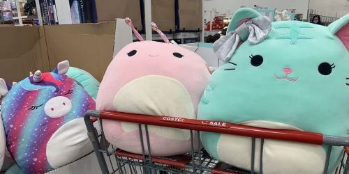 New Squishmallows Available for Only $9.99 at Costco | Unicorn, Snail & Kitten