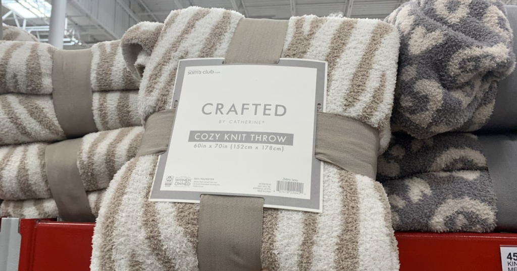 Crafted Cozy Knit Throw