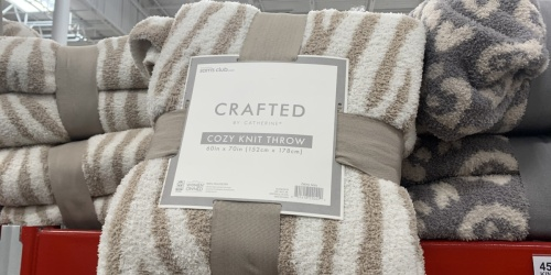 Barefoot Dreams Throw Blanket Dupe Only $14.91 at Sam's Club