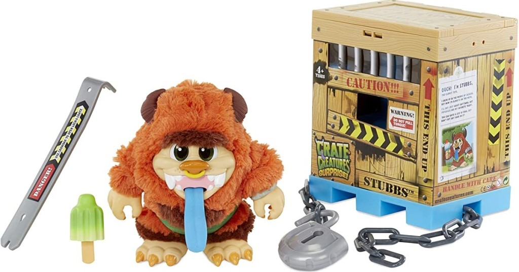 Crate Creature toy with accessories