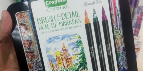 Crayola Dual-Tip Markers w/ 32 Colors Only $10 on Amazon (Regularly $15)