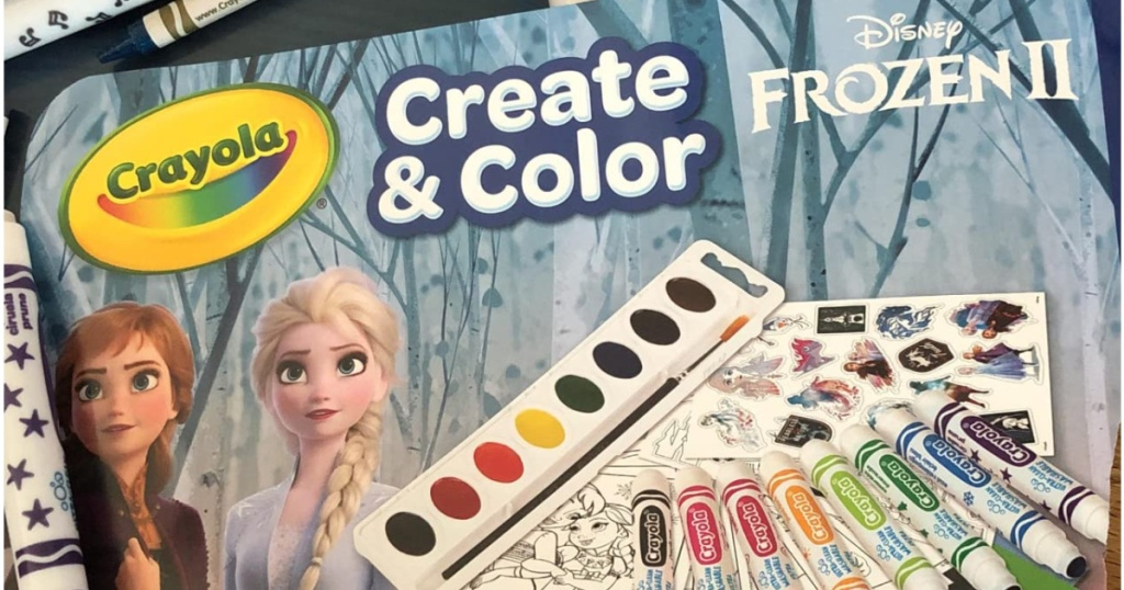 Crayola Create Kit featuring Frozen characters