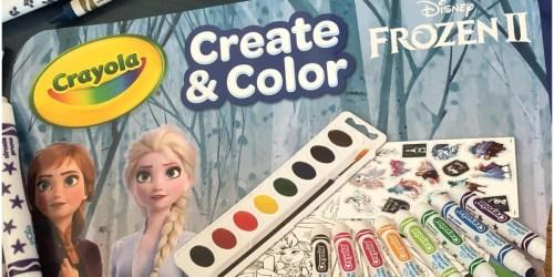 Crayola Disney Frozen 2 Art Set Just $10.49 on Amazon (Regularly $23)