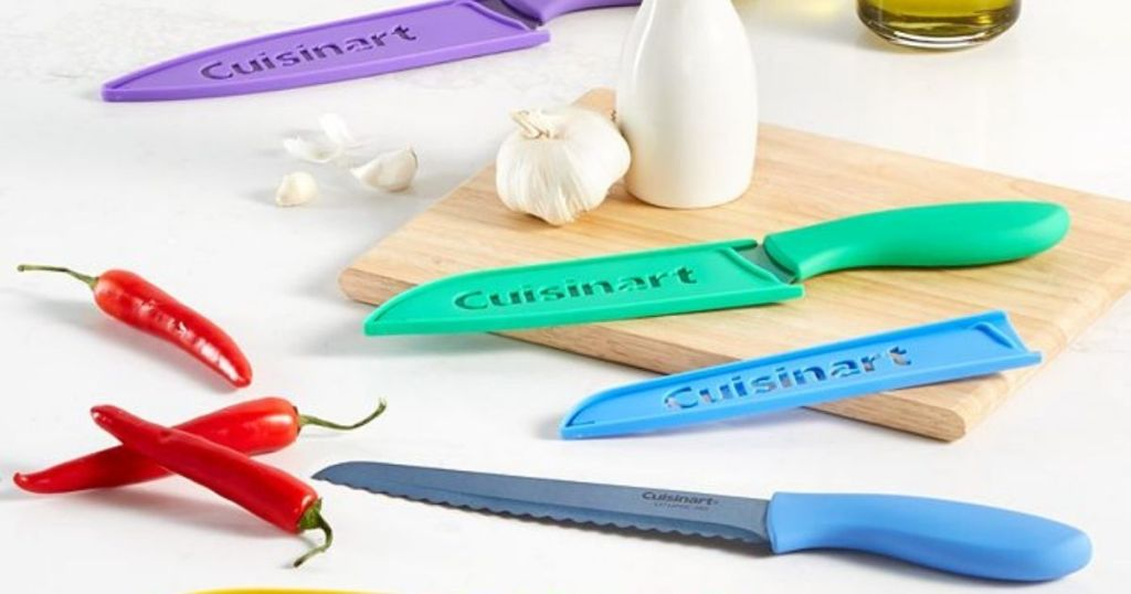 Cuisinart ColorCore™ 10-Pc. Multicolor Cutlery Set with Blade Guards