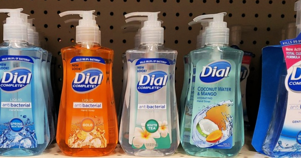 Dial Complete Liquid Hand soaps