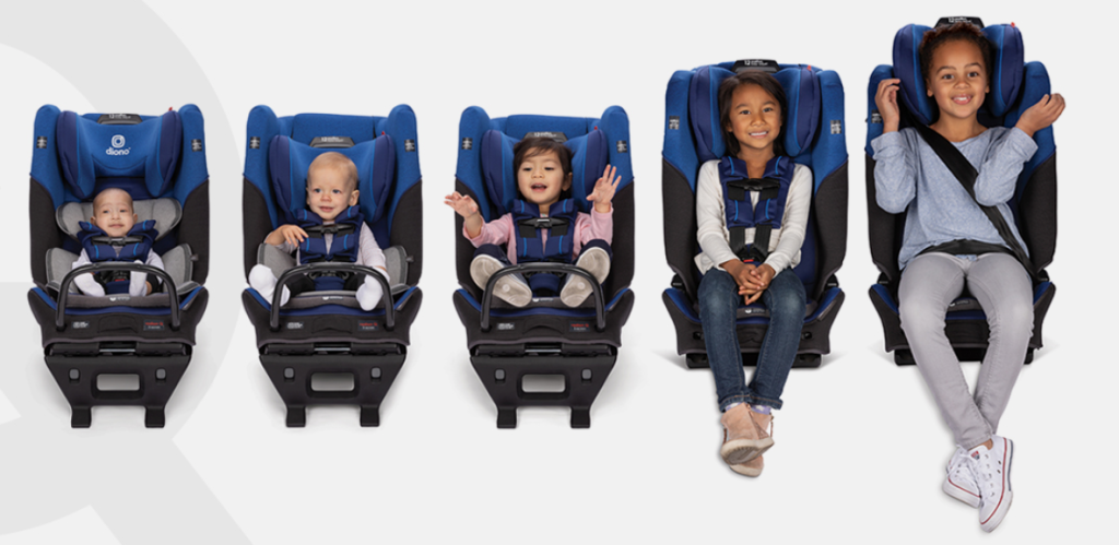 Diono 3QX Car seat from birth to booster