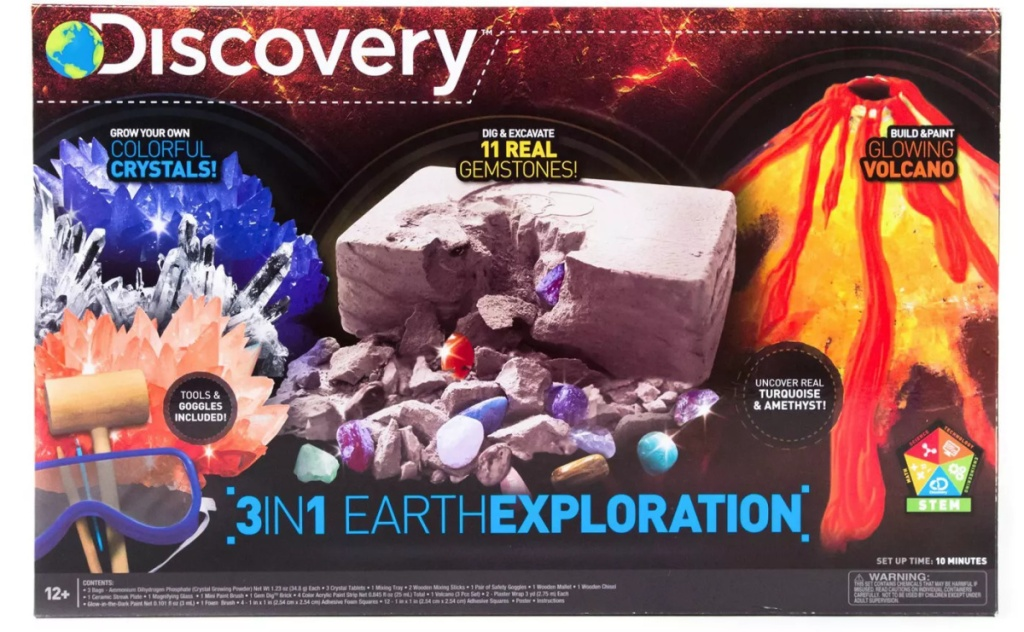 Discovery Kids brand Earth kit
