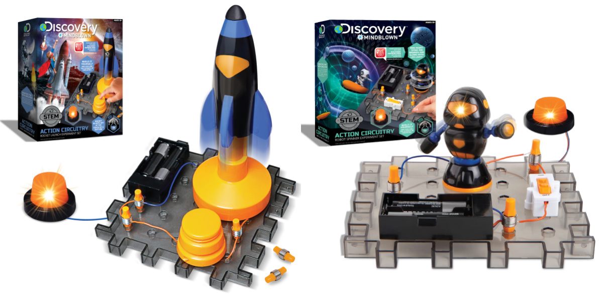 two Discover stem kit