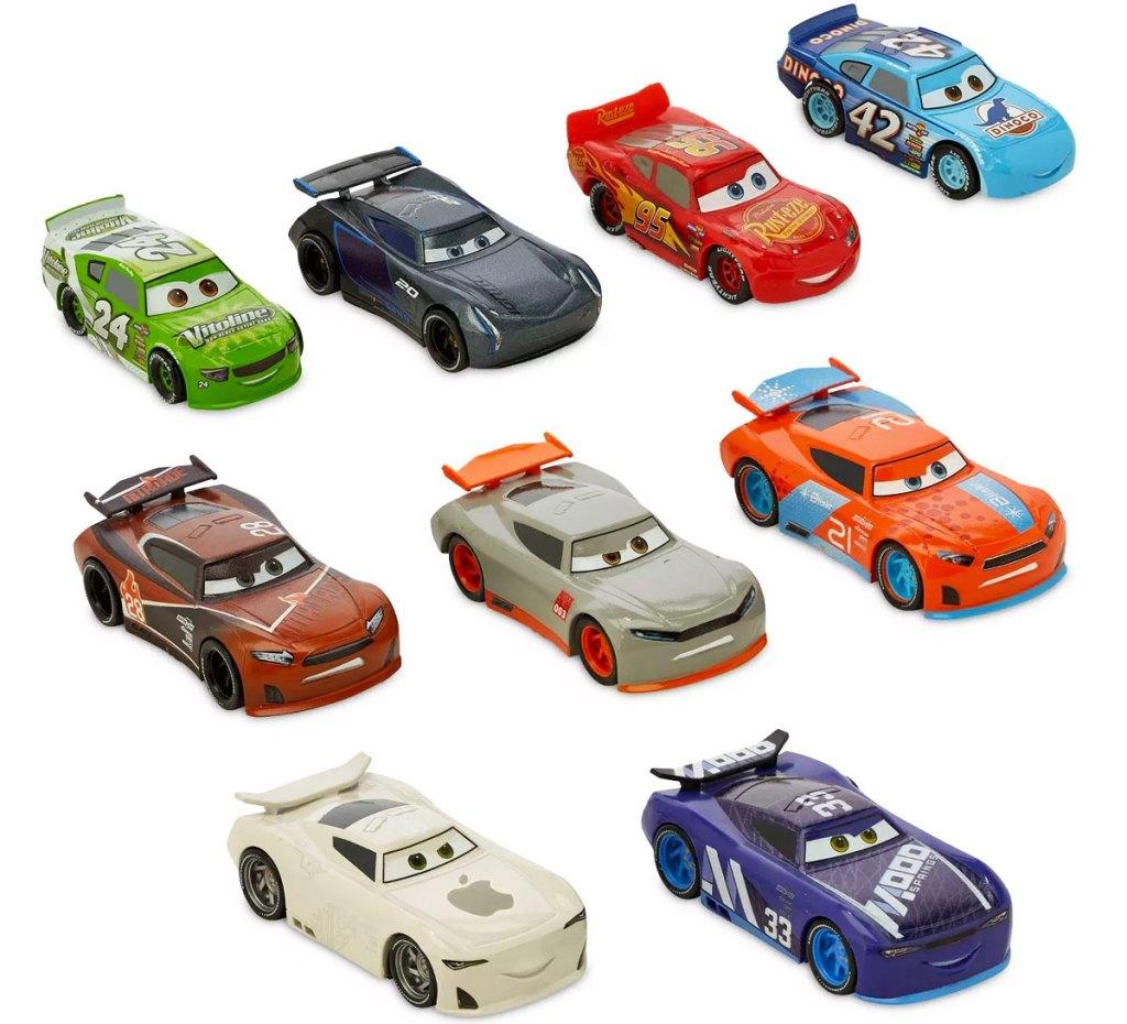 9 disney cars toys