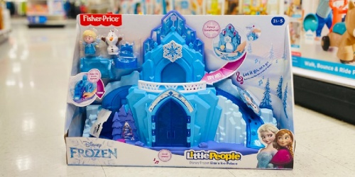 Disney Frozen Little People Elsa's Ice Palace Playset Only $23.99 on Kohls.com (Regularly $40) + Up to 45% Off More Toys