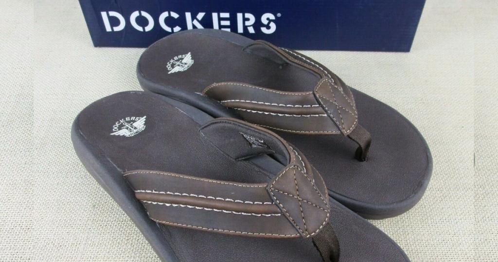 Dockers Men's Flip FLops