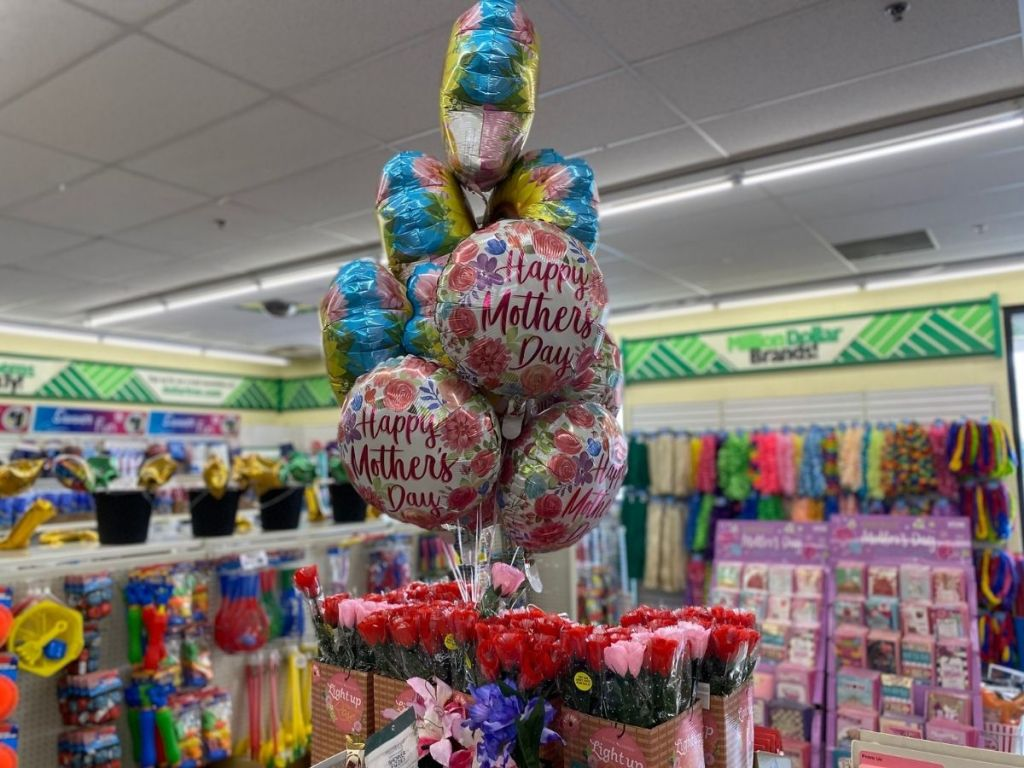 Mother's Day balloons in store