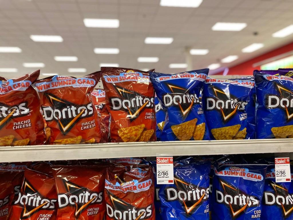 Doritos Chips on Target Shelf