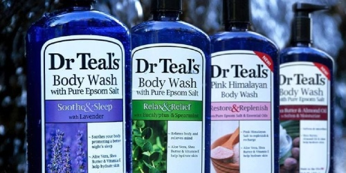 Dr Teal's Moisturizing Body Wash 24oz Bottle Only $3.87 Shipped on Amazon