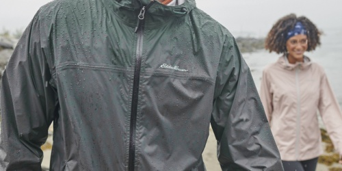 Eddie Bauer Men's & Women's Rain Jacket Only $35.64 Shipped (Regularly $99) + More Apparel Deals