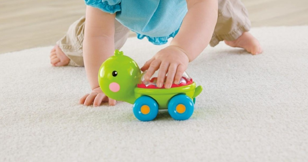 Fisher Price brand turtle toy