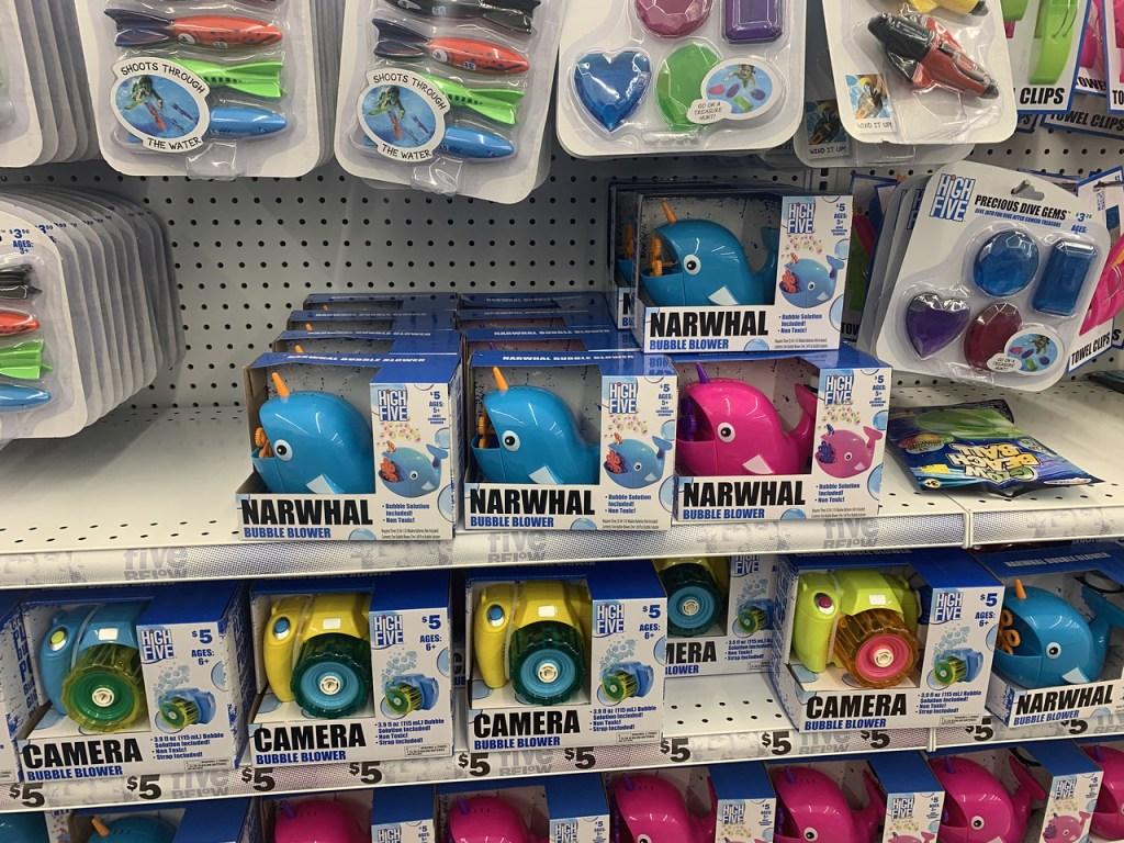 Bubble Blower on store shelf