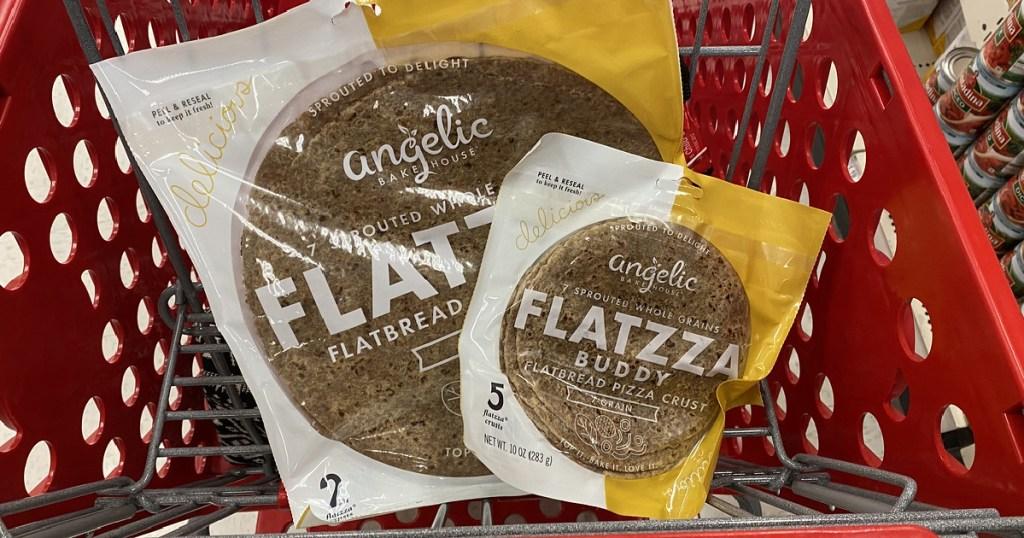 Flatzza Pizza Crusts in Target Cart