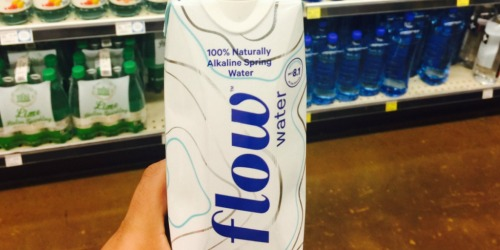 Flow Natural Spring Water 1L Cartons Only $1.25 at Target (Just Use Your Phone)