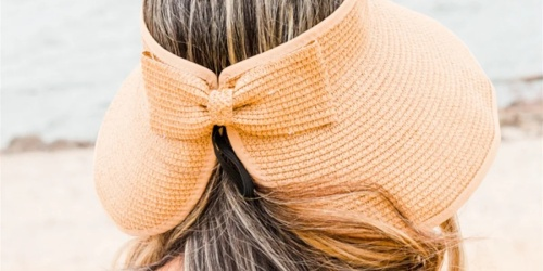 Foldable Beach Straw Hat Only $11.99 Shipped (Regularly $30) | Available In 3 Colors