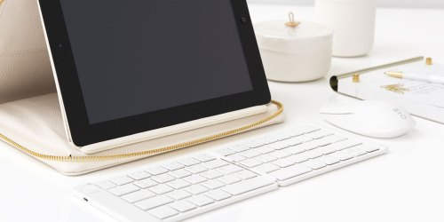 Folding Wireless Bluetooth Keyboard Only $9.88 on Walmart.com (Regularly $28) | Connects to Any Tablet
