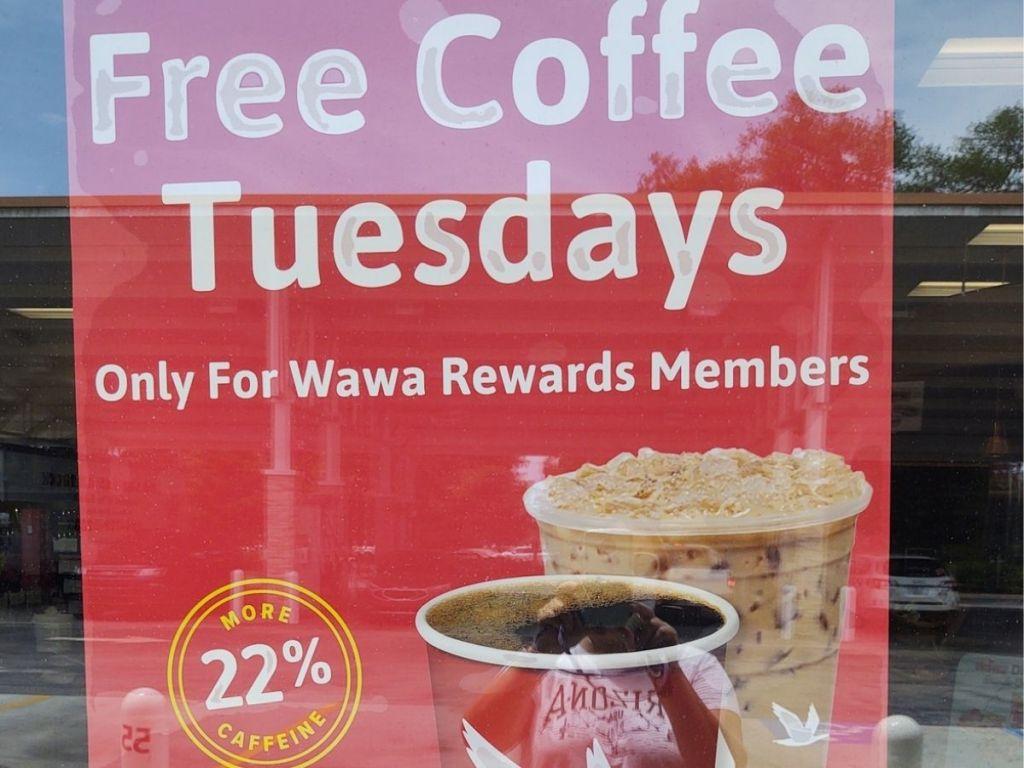 Free Coffee Tuesdays Wawa