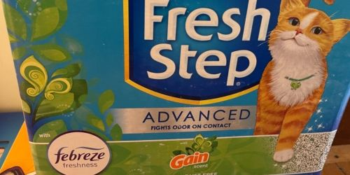 6 Fresh Step Advanced Cat Litter 18.5lb Boxes Only $34 Shipped on Chewy.com (Regularly $84)