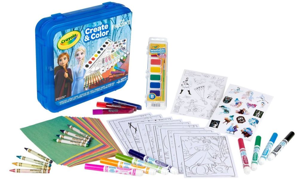 Frozen Art Kit from Crayola