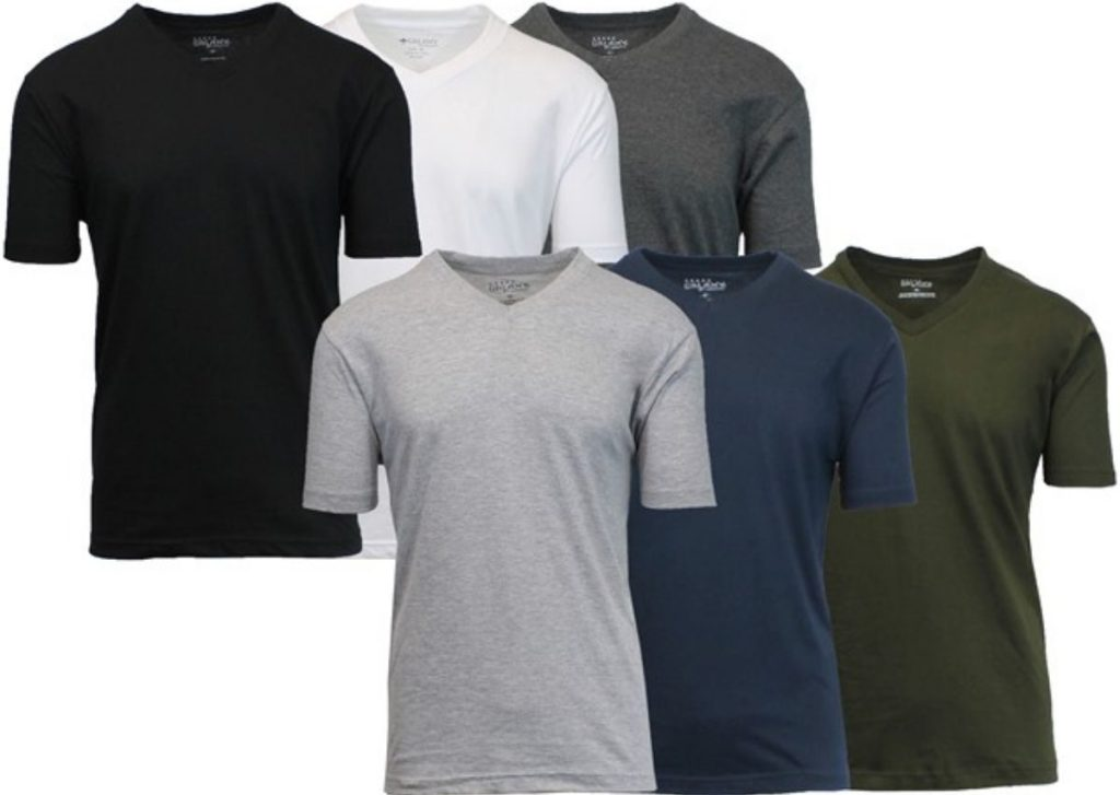 GBH Men's V-neck Shirts in six colors